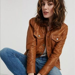 Lucky Brand Lamb Leather Jacket